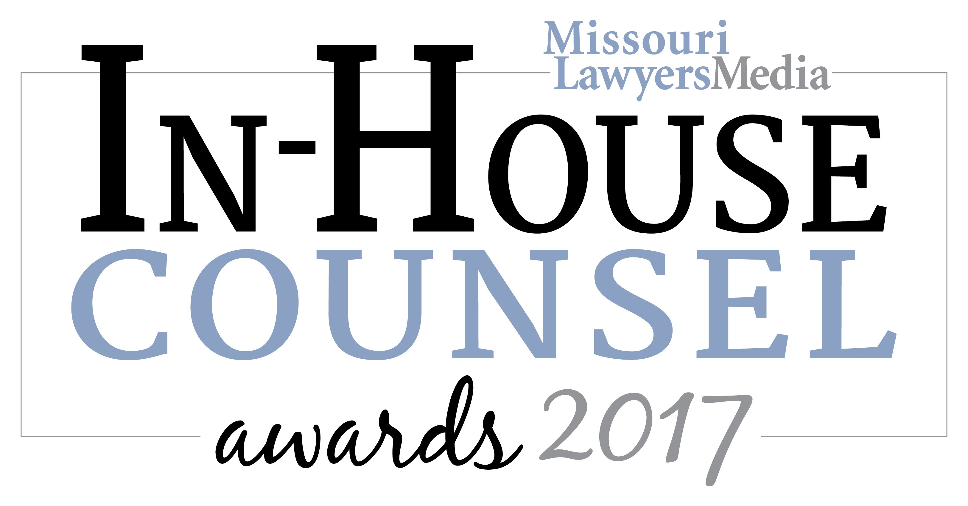 In-House Counsel Awards 2017 Gilded Package