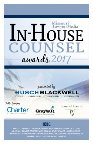In-House Counsel Awards 2017 Program